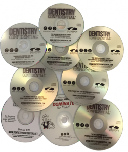 A sampling of Dentistry Confidential® business of dentistry CDs