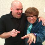 Jerry with Austin Powers